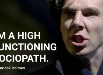 High Functioning Sociopath Sherlock