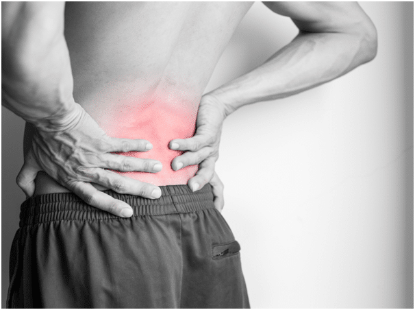 stress and back pain